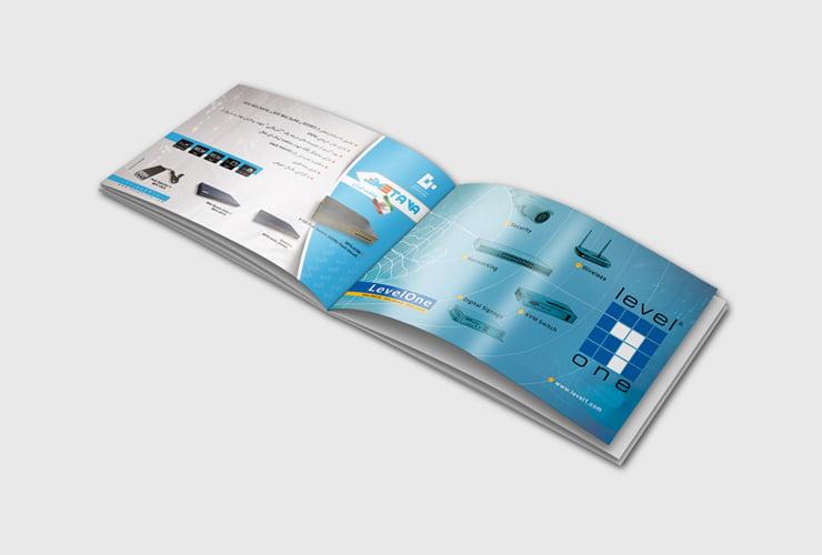 طراحی آگهی تبلیغاتی شرکت پرشیا سیستم