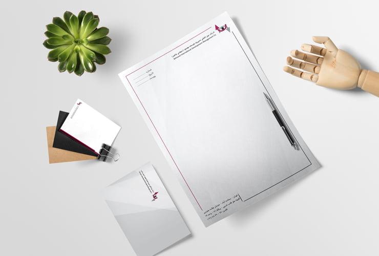 طراحی و چاپ ست اداری سرمایه گذاری بهسود