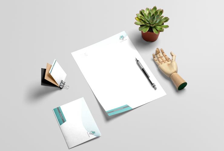طراحی و چاپ ست اداری شرکت توسعه سیستم توانا