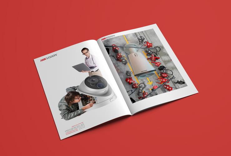 طراحی کمپین تبلیغاتی شرکت هایک ویژن